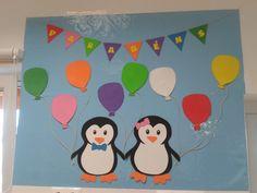 Mapa aniversários Pinguins
