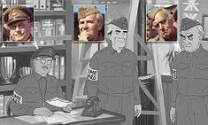 Lost episode of Dad's Army to air as cartoon after 50 years Lost Episodes, Dad's Army, Home Guard, Farm Hero Saga, Mail Online, Daily Mail, Tv Series, Comedy, Dads