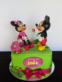 Doces Opções: O Mickey e a Minnie no 4º aniversário da Inês