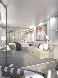 State Room With Veranda On Celebrity Edge Cruise Ship By Kelly Hoppen