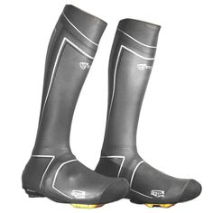 Spatz Pro Cycling Overshoes from the knee down