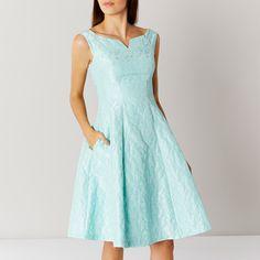KIMBERLEY JACQUARD DRESS