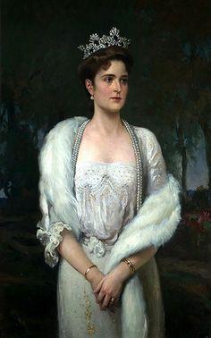 HIH THE EMPRESS ALEXANDRA FJODOROVNA OF RUSSIA. A Makovsky