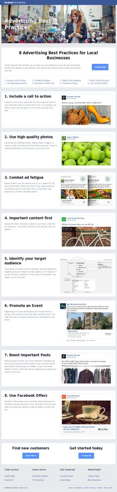 8 Advertising Best Practices for Local Businesses on Facebook