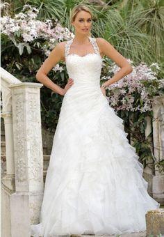 https://flic.kr/p/BDAVDc | Trouwjurken | Trouwjurken vintage, Moderne Trouwjurken, Korte trouwjurken, Avondjurken, Wedding Dress, Wedding Dresses | www.popo-shoes.nl