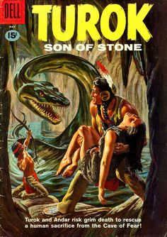 40 Best Turok Son Of Stone Images Dell Comic Comic Book Covers Classic Comics