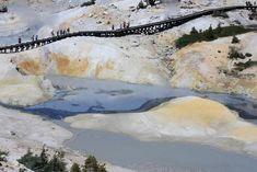 Lassen Volcanic National Park, Bumpass Hell: Walk the boardwalk that traverses a 16-acre cauldron of scalding ponds and mud pots. (Shutterstock/Beschi Mauro)