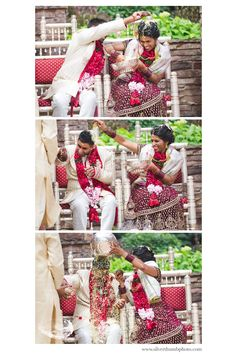 So fun! We love Indian weddings. #silverthumbphoto #bride #groom
