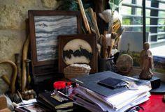 L'atelier de Fabienne Verdier, artiste peintre
