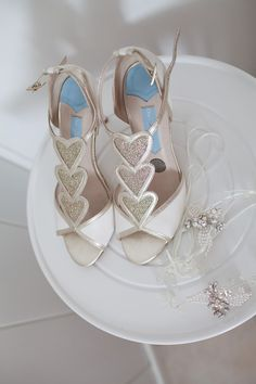 Charlotte Mills Bridal Shoes | Image by Fairweather Photography