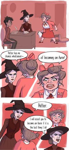 Comic about Professor McGonagall and Umbridge part 3/3