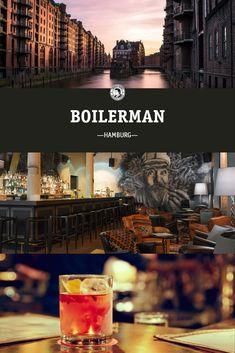 Beste Cocktails, Bar Interior, Location, Gin, Movie Posters, Smoking Room, Hamburg, Bartenders, Viajes