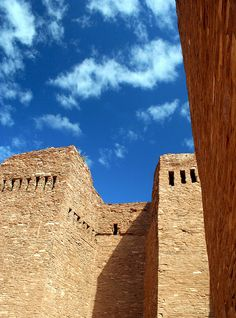 Ruins, Salinas Pueblo Missions National Monument, New Mexico