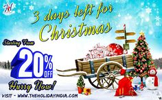On Christmas special occasion make your Bihu Festival Trip more exciting with Holiday India discount offer tour packages specially design for you starting from 20% Off.