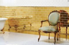 Oiba Kitchen Wall Tiles,Alchemy Brick Tile, Supplier of Porcelain and Ceramic Wall Tiles . London, Berkshire, Surrey and UK wide. Glazed Ceramic Tile, Ceramic Wall Tiles, Tile Manufacturers, Downstairs Toilet, Metro Tiles, Brick Tiles, Beauty Salon Interior, Gold Walls, Style Tile