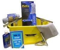 Includes Ettore and 16 inch Squeegees 6 Gallon Ettore Rectangular bucket for easy use and storage Ettore large and medium window scrubbers… Window Cleaning Tips, Window Cleaning Services, Cleaning Kit, Cleaning Supplies, Cleaning Products, How To Clean Mirrors, Window Cleaner, Organization Hacks, Organizing Tips