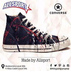 Pregunta ya por la variedad en nuestras tiendas de multicentro y 4 altos y lleva el estilo urbano a tus pies!! #multicentro #colon #converse #madebyyou #allsport #beurban #becool