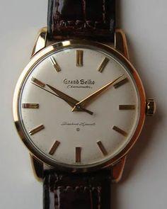 """""""GRAND SEIKO 1960 Model"""" https://sumally.com/p/430216"""