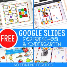 Perfect for distance learning- No printer needed Alphabet Activities, Reading Activities, Classroom Activities, Family Activities, Classroom Ideas, Google Docs, Google Classroom, Addition Activities, Home Learning