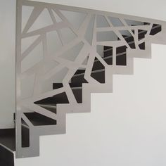 This is also true for that basement stairs. Staircase Railing Design, Home Stairs Design, Interior Stairs, House Design, Basement Stairs, House Stairs, Stairs Architecture, Modern Stairs, Stair Storage