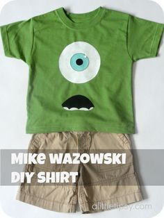 @Jana Taylor @Reed Morris A Little Tipsy: DIY under $5 mike wasowski for disney!