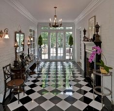 checkered floors obsession!