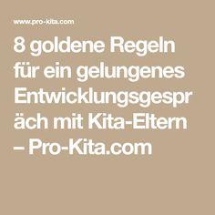 8 goldene Regeln für ein gelungenes Entwicklungsgespräch mit Kita-Eltern – Pro-Kita.com