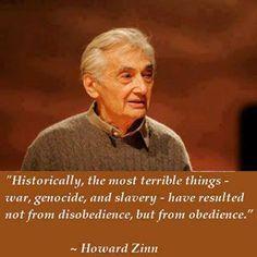 Prof. Howard Zinn--I took political science from him in college (Boston University).  Great teacher.