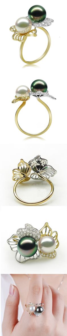 @Maria Canavello Mrasek Ferraro multicolor pearl ring - made me think of my ria