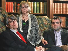 stephen king with wife tabitha and son owen