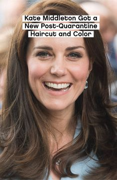 Love this brighter look for her. Haircut And Color, Celebrity Beauty, Kate Middleton, Hair Cuts, Glamour, Celebrities, Haircuts, Celebs, Foreign Celebrities