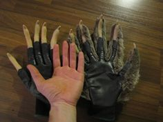 gloves ... goes with those feet.... LOVE IT!!!!