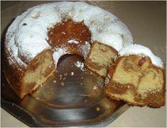 Greek Sweets, Greek Desserts, Greek Recipes, Cake Frosting Recipe, Frosting Recipes, Marble Cake, Deserts, Food And Drink, Eat