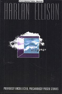 Harlan Ellison - Slippage Science Fiction Authors, Pulp Fiction Art, Harlan Ellison, Great Books, Retro, Retro Illustration, Big Books, Good Books