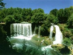 Duden Waterfalls are a group of waterfalls on the Duden River in the province of Antalya, Turkey. The water of the Lower Duden waterfall falls gracefully into the Mediterranean sea after sliding across a rocky cliff Famous Waterfalls, Beautiful Waterfalls, Antalya, Beautiful World, Beautiful Places, Travel Around The World, Around The Worlds, Vacation Destinations, Places To Go