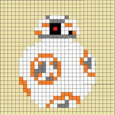 BB* crochet chart!  Not perfect, but I'm pretty happy