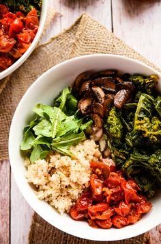Comforting and Cozy Fall Power Bowl   vegan, gluten-free