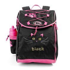 De lækreste Jeva Intermediate skoletaske, 1-4 klasse, Black Cat Jeva  til Rygsække til børn i fantastisk kvalitet