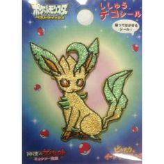 Pokemon Center 2013 Leafeon Embroidered Sticker