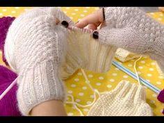 Çok şık parmaksız eldiven yapımı – Derya Baykal - YouTube