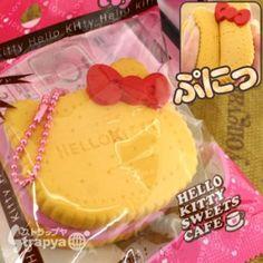 kawaii cute hello kitty squishy biscuit ( sweet treats)