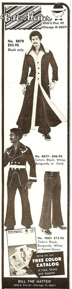 25 Outrageous Fashion Ads From The 1970s. Oh look, you get a free color catalog!