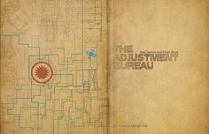 Science Fiction Movie Poster - The Adjustment Bureau - Vintage Inspired Fine Art Print, via Etsy.