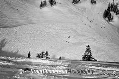 #4 of 8. Ski patrol used a heli to do some massive avi control at Mt. Baker. Photo by Grant Gunderson