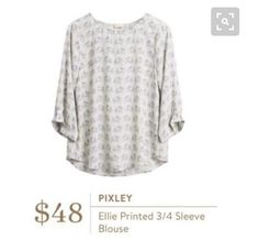 """I'm not usually one for """"out there"""" prints, but there's just something so gosh darn cute about this elephant top!"""