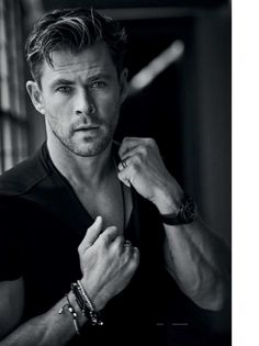 Male Fashion Trends: Chris Hemsworth para GQ España por Matthew Brookes