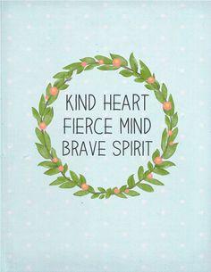Trisha B Blog: One Little Word {Brave}