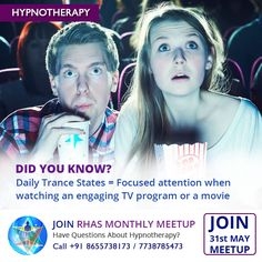 Did You Know? Hypnotherapy is not a mystical practice or magic or brainwashing. It is a practice, just like any other form of psychotherapy, used to treat mental, physical and emotional issues. Hypnotherapy as a powerful method to reach a trance-like state of heightened focus and concentration and it's more common than you might think. If you have got into reading a book or watching your favorite movie or a show and the rest of the world around you has sort-of gone away. Hypnosis is very…