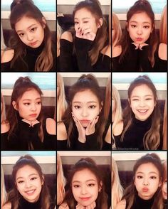 BLACKPINK ( 블랙 핀크 ) Workout Plans workout plans with dumbbells only Divas, Kim Jennie, South Korean Girls, Korean Girl Groups, Forever Young, Super Junior, Rapper, Blackpink Memes, Cute Faces