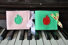 great for a Waldorf teacher gift - needle books